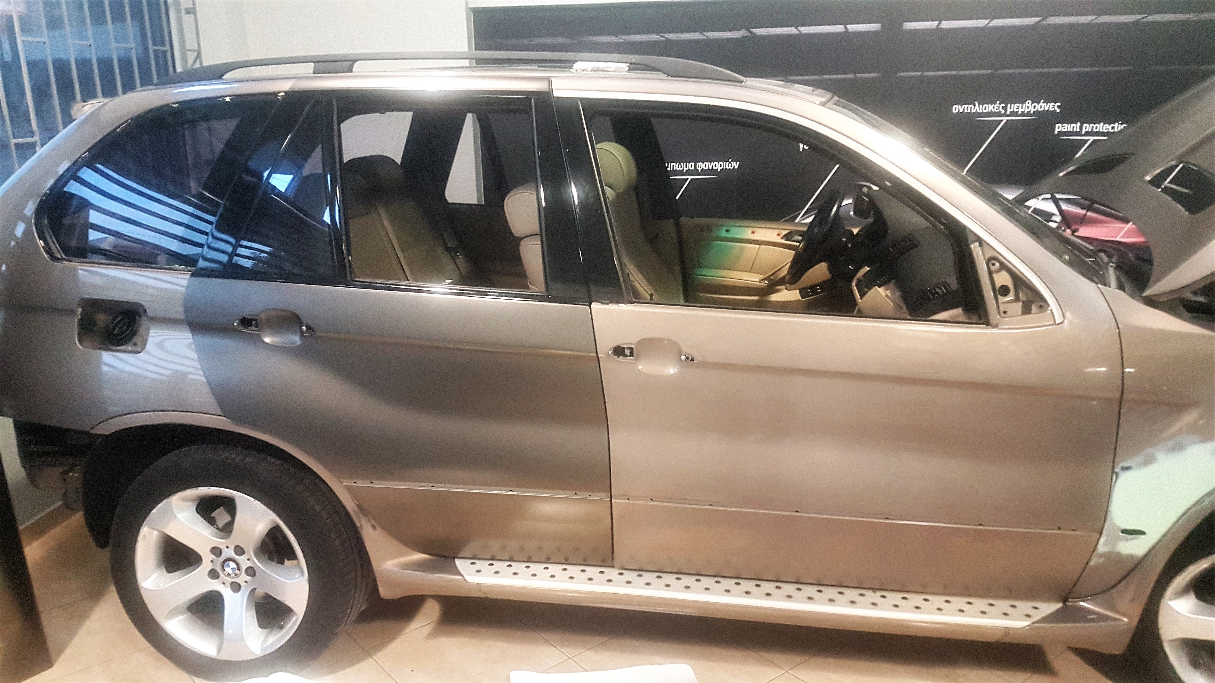 Bmw X5 Satin Gray 4 Nck Design